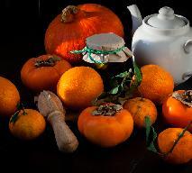 Najlepsza konfitura z dyni i owocu kaki (szaron, persymona, hurma, kuraga)