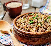 Mujadara: pyszny ryż z soczewicą i chrupiącą cebulką