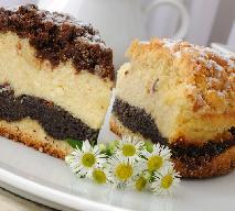Makowiec serowy - połączenie dwóch tradycyjnych ciast [WIDEO]