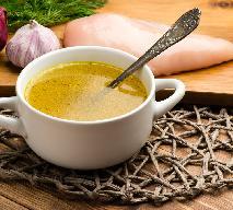 Najprostsza zupa kminkowa z grzankami