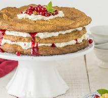 Orkiszowy tort karpatkowy