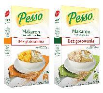Pesso –  makaron bez gotowania firmy Wodzisław