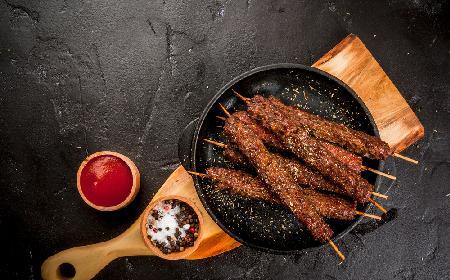 Szisz kebab, czyli łatwy kebab na patyku