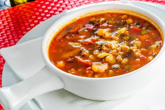 Итальянский овощной суп рецепт с фото