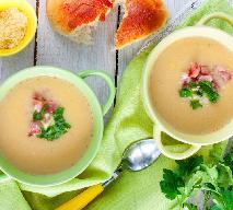 Kremowa kartoflanka z szynką: sprytna zupa do kubka