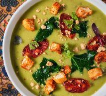 Zupa z batatów i chorizo