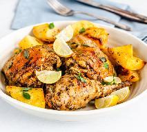 Soczyste ćwiartki kurczaka marynowane po grecku: łatwy przepis, doskonały smak
