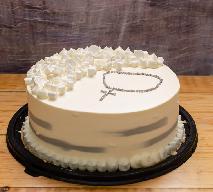 Prosty tort na chrzest - jak samodzielnie przygotować tort z okazji Chrztu Świętego?