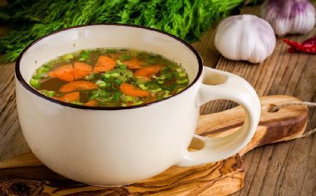 Zupa wiosenna - przepis z menu beszamel