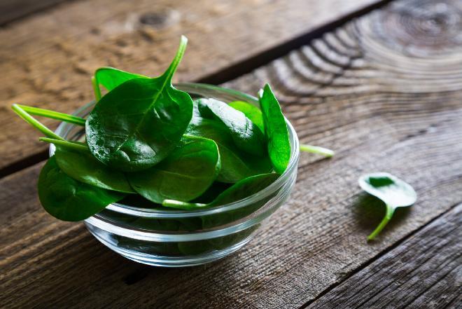 Szpinak - idealny składnik diety odchudzającej