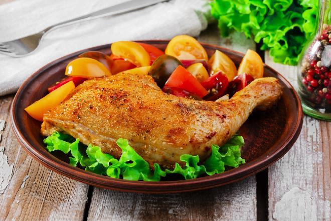 Przepyszne nóżki kurczaka pieczone w kefirze